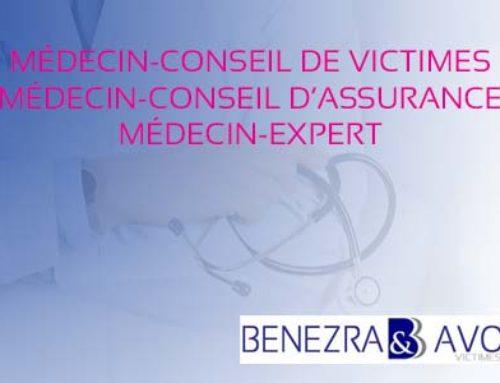 Médecin-conseil de victimes, médecin-conseil d'assurance et médecin-expert ?