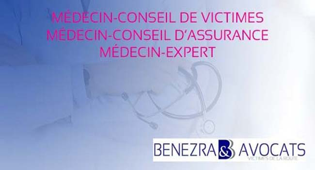 médecin-conseil de victime, médecin-conseil de recours, médecin-conseil d'assurance, médecin-expert
