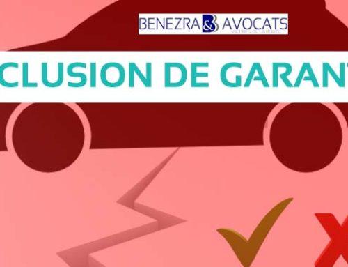 Accident de la route et exclusion de garantie pour la victime