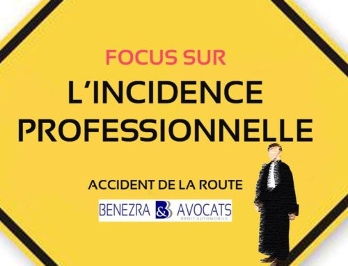 L'indemnisation de l'incidence professionnelle après un accident de la route