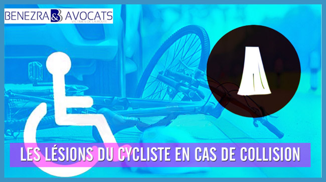 handicap cycliste, accident de cycliste, dommages cycliste, collision cycliste, accident cycliste, blessures cycliste, séquelles cycliste, séquelles accident de vélo, dommages corporels cycliste, droit des cyclistes