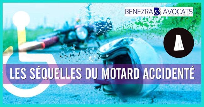 lesions du motard, lésions du motard, collision